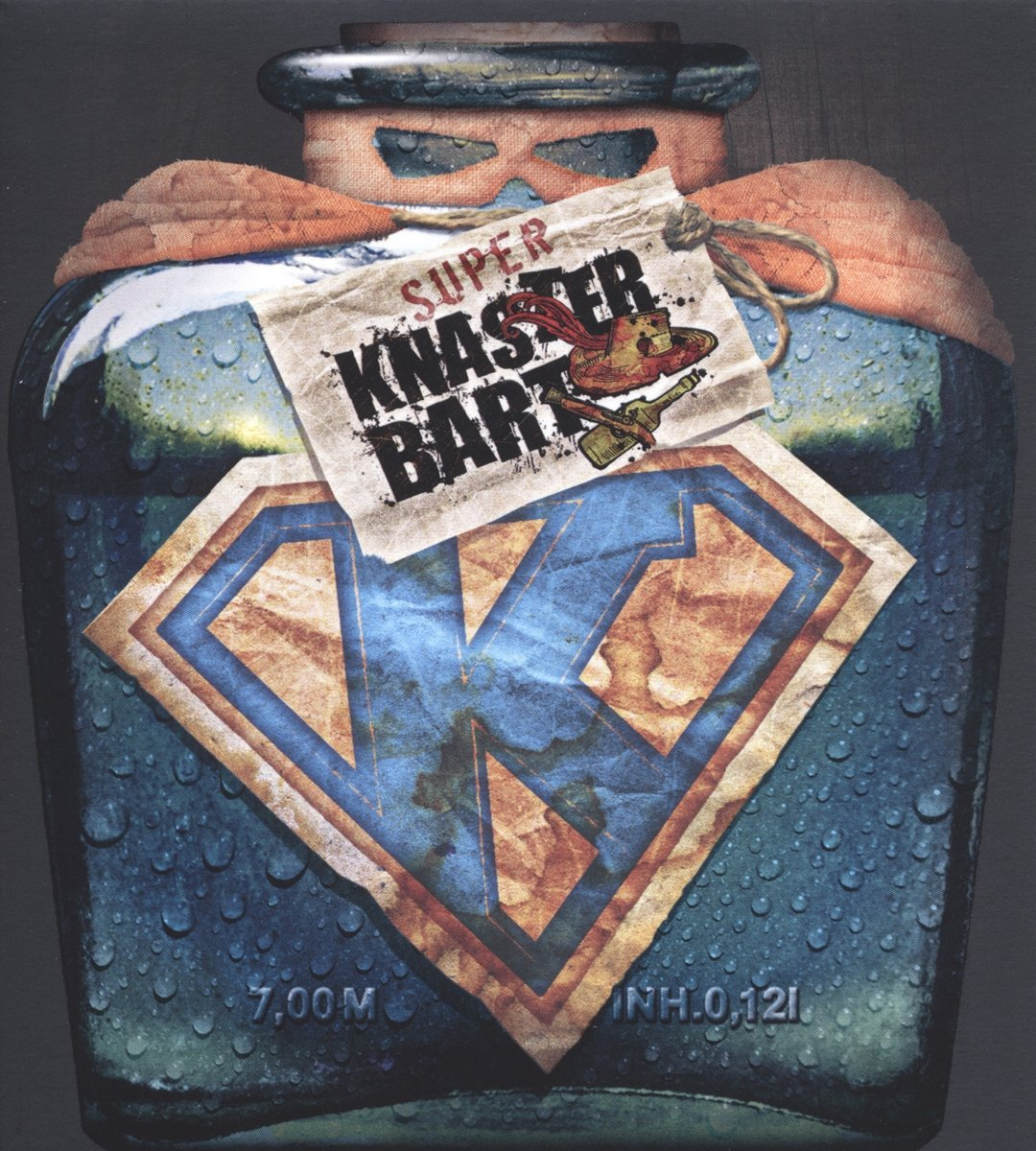 Superknasterbart Cover